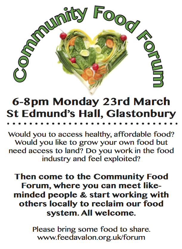 Comm Food Forum March 2015