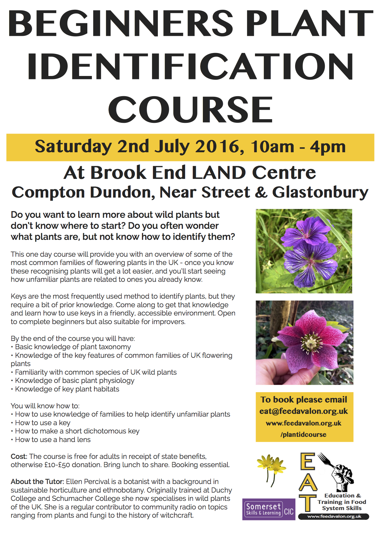 Plant ID course
