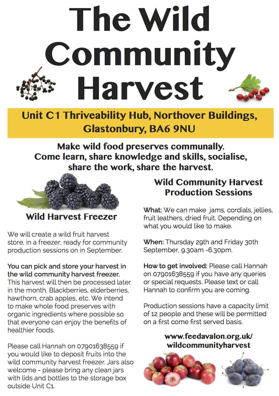 Wild Community Harvest