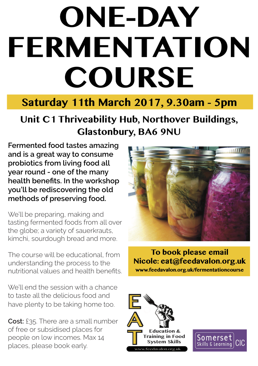 Fermentation Course march