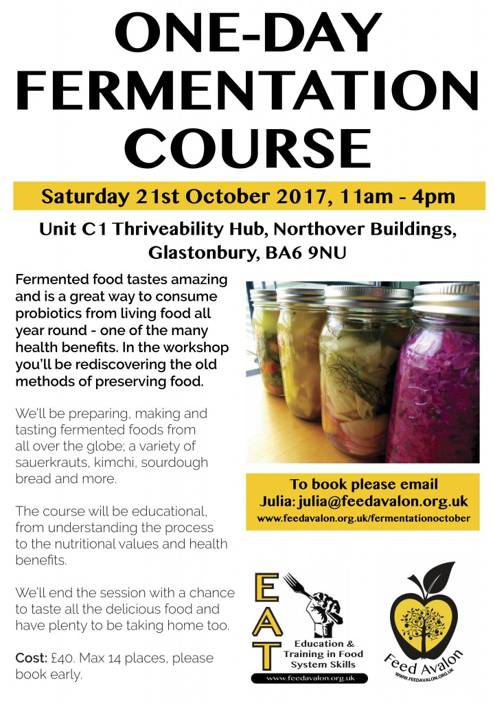 Fermentation Course October 17